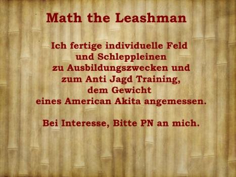 Math. the Leashman